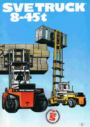Dieselheftrucks SVETRUCK 18120-36