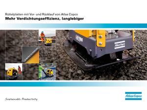 Diesel oppervlaktetrillers Atlas Copco LG 160