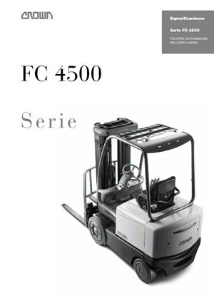 Elektrische vorkheftrucks Crown FC 4525 2.0