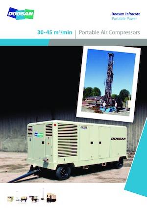 Hogedrukcompressoren Doosan 10/455