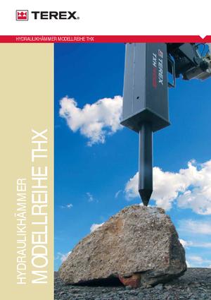 Monteerbare freeskoppen voor hydraulische graafmachines Terex WS 30 HD
