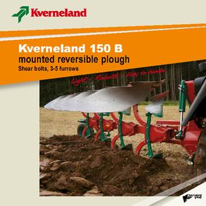 Ploegen Kverneland 150 B 85
