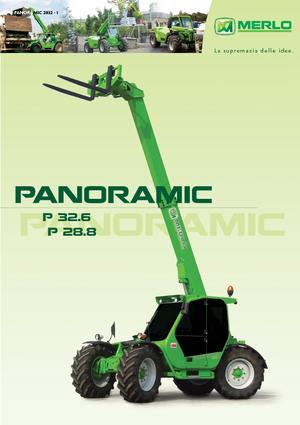 telescopische handlers Merlo Panoramic P 32.6 L Plus