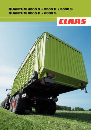 Silagewagens Claas Quantum 5500 S-16