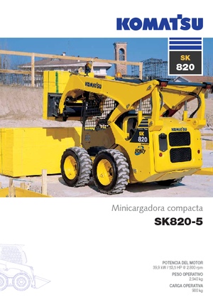 Schrankladers Komatsu SK820-5
