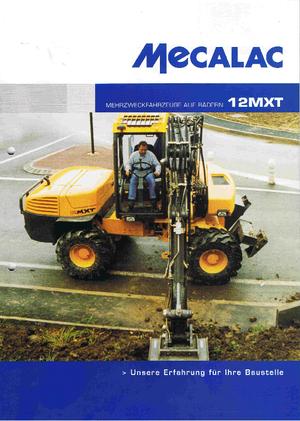 Mobiele graafmachines Mecalac 12 MXT